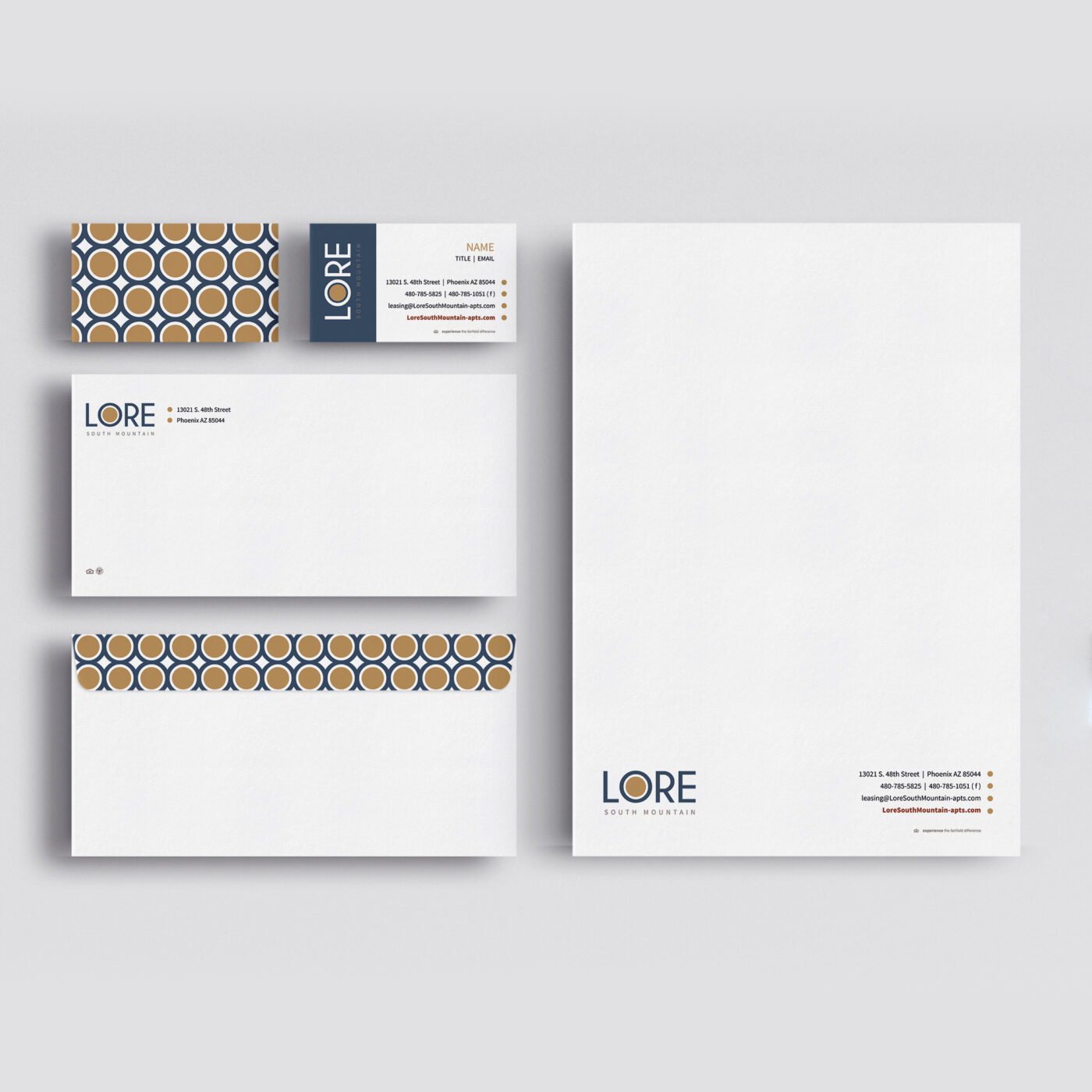 marketing collateral stationary